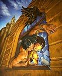 Arcangel cubistico(autorretrato)